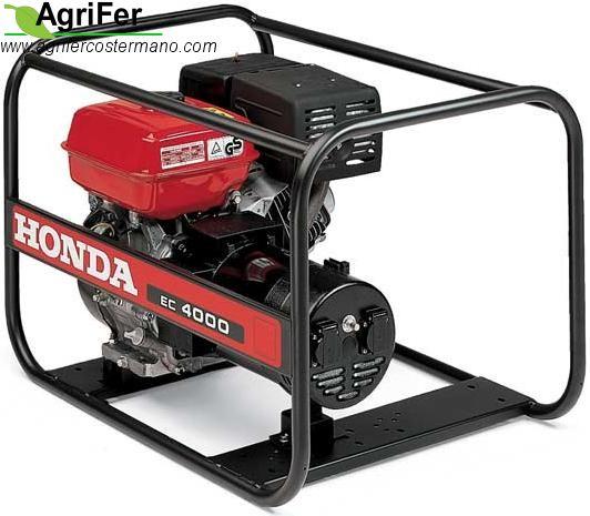 Generatore honda ec4000 agrifer costermano for Generatore honda usato